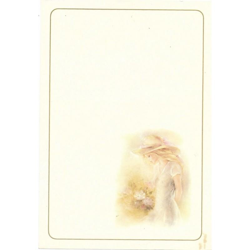 Papel de Carta Julia Médio - 16