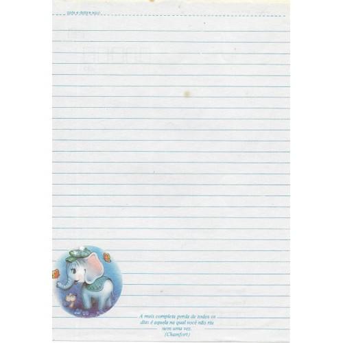 Papel de Carta Coleção TERNURA 01