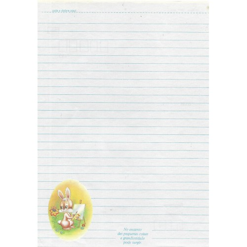 Papel de Carta Coleção TERNURA 03