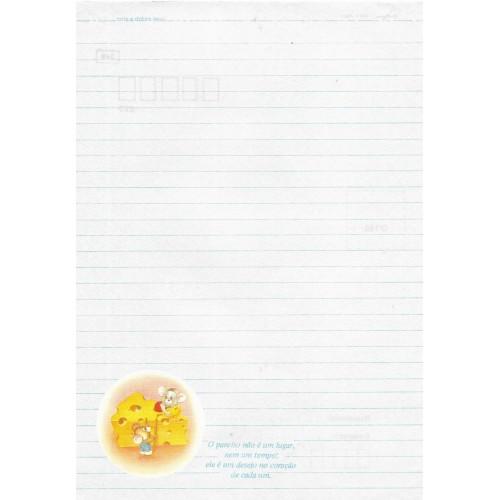 Papel de Carta Coleção TERNURA 04