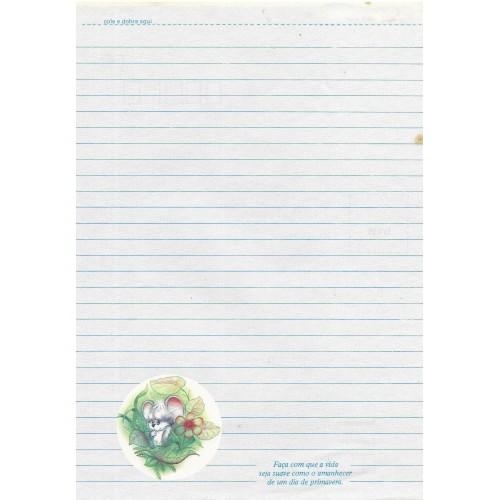 Papel de Carta Coleção TERNURA 06