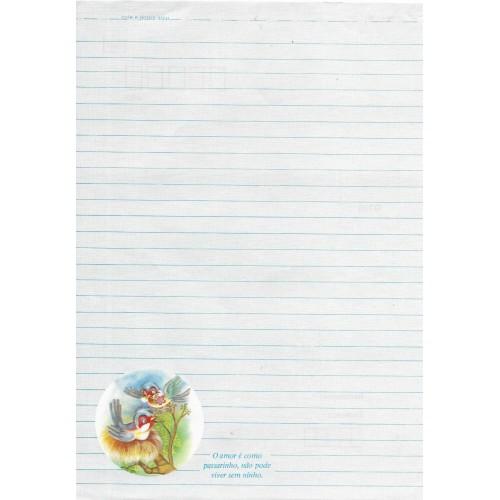Papel de Carta Coleção TERNURA 07