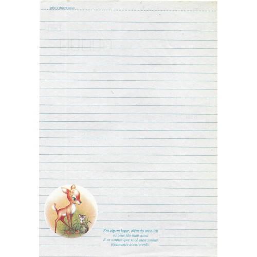 Papel de Carta Coleção TERNURA 08