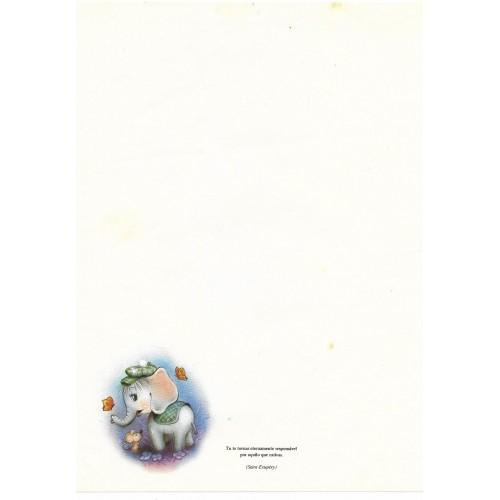 Papel de Carta Coleção TERNURA 09