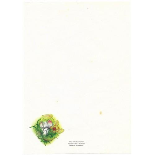 Papel de Carta Coleção TERNURA 10