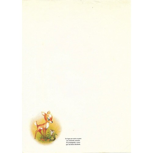 Papel de Carta Coleção TERNURA 12