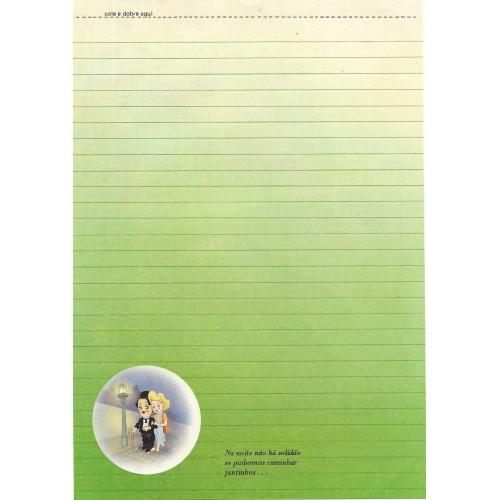 Papel de Carta Coleção TERNURA Chaplin 01