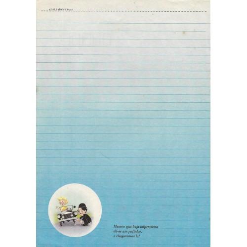 Papel de Carta Coleção TERNURA Chaplin 02