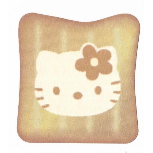 Ano 2003. Notinha Hello Kitty Toasted Bread Sanrio