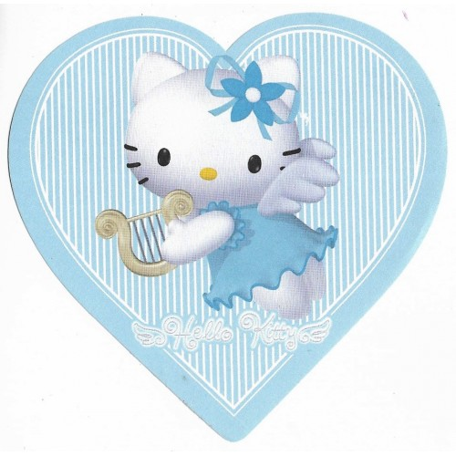Ano 2001. Nota Hello Kitty Angel Heart Sanrio