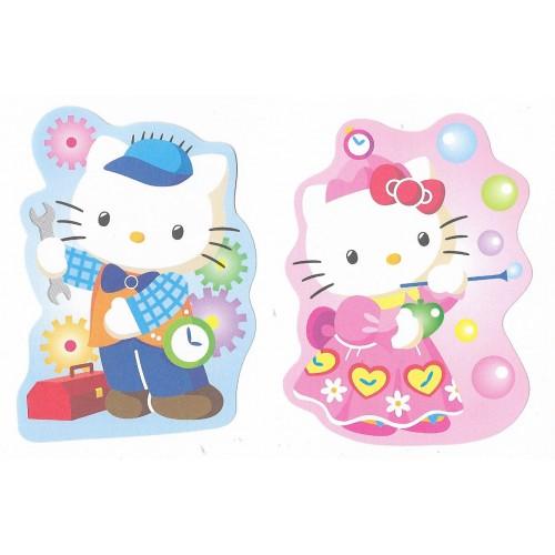 Ano 2003. Kit 2 Notas GOTOCHI Kitty HK & Dear Daniel Sanrio