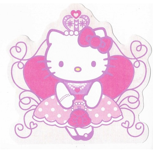 Ano 2005. Nota Hello Kitty Princess Sanrio