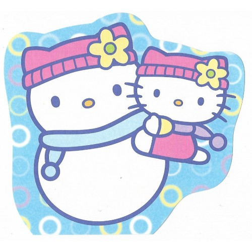 Ano 2002. Nota Hello Kitty Snow Sanrio