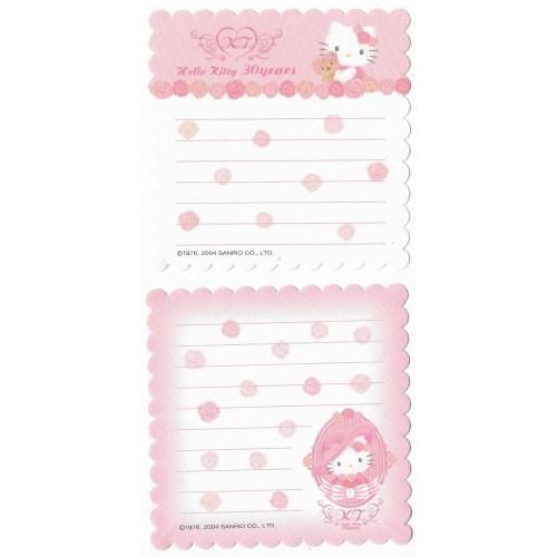 Ano 2004. Kit 2 Notas Hello Kitty 30 YEARS 2 Sanrio
