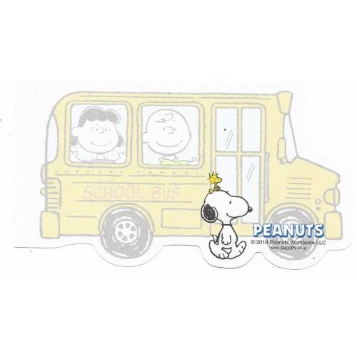 Nota Snoopy School Bus Peanuts Japan