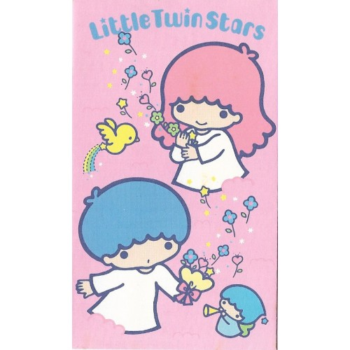 Ano 1985. Mini-Envelope Little Twin Stars Sanrio