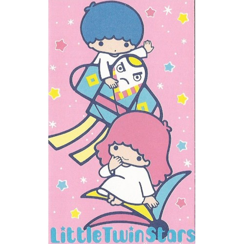 Ano 1984. Mini-Envelope Little Twin Stars Sanrio