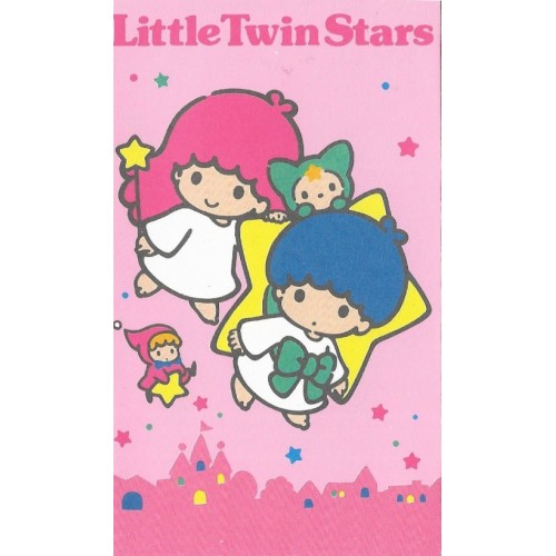 Ano 1990. Mini-Envelope Little Twin Stars 2 Vintage Sanrio