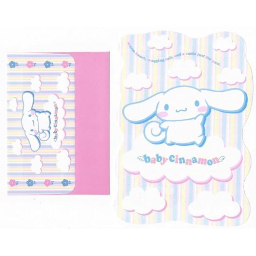 Ano 2002. Conjunto de Papel de Carta Baby Cinnamon DC Sanrio
