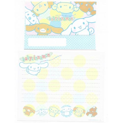 Ano 2002. Conjunto de Papel de Carta Baby Cinnamon Balls Sanrio