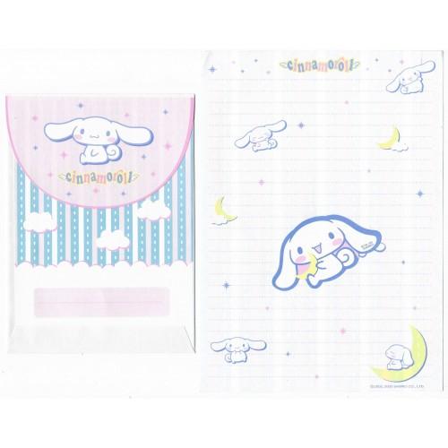 Ano 2003. Conjunto de Papel de Carta Cinnamoroll Moon Sanrio