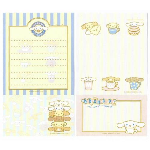 Ano 2002. Kit 2 Notas Baby Cinnamon BC Sanrio