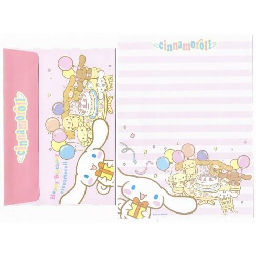 Ano 2004 Conjunto Papel de Carta Cinnamoroll 11 Edição Especial Sanrio