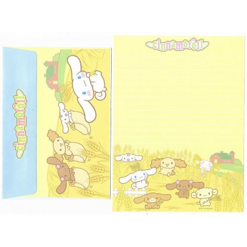 Ano 2004 Conjunto Papel de Carta Cinnamoroll 14 Edição Especial Sanrio