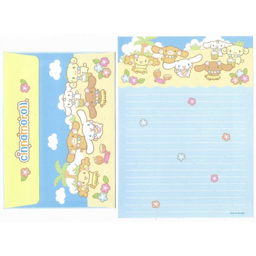 Ano 2004 Conjunto Papel de Carta Cinnamoroll 16 Edição Especial Sanrio