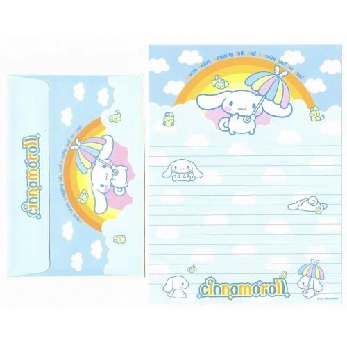 Ano 2004 Conjunto Papel de Carta Cinnamoroll 21 Edição Especial Sanrio