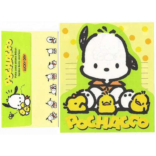 Ano 1993. Conjunto de Papel de Carta Pochacco Antigo (Vintage) Sanrio