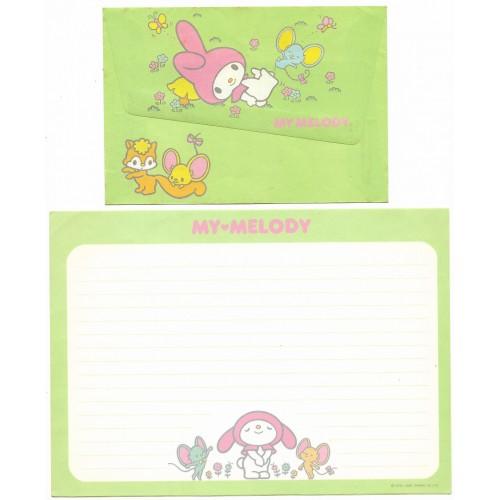 Ano 1985. Conjunto de Papel de Carta My Melody Sanrio Argentina