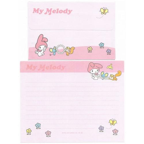 Ano 2003. Conjunto de Papel de Carta My Melody CRS Sanrio