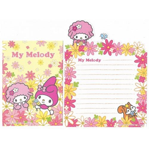 Ano 2004. Kit 4 Conjuntos de Papel de Carta My Melody Sanrio