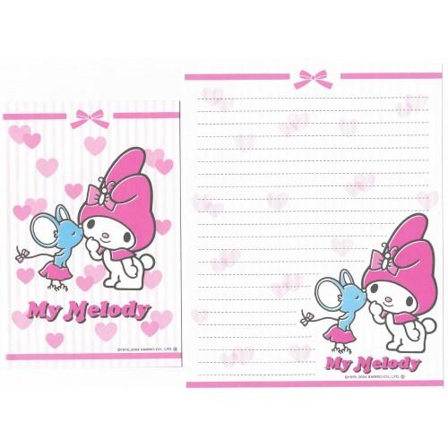 Ano 2004. Kit Coleção de Papel de Carta My Melody Sanrio