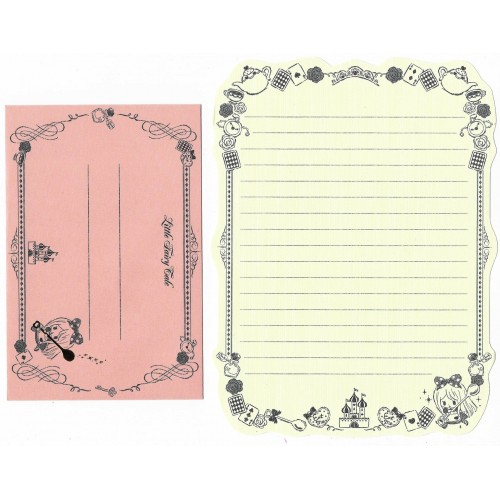 Conjunto de Papel de Carta Importado Little Fairy Tale Alice
