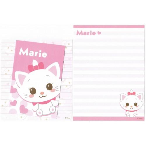 Conjunto de Papel de Carta Importado Disney Marie Dupla (RS)