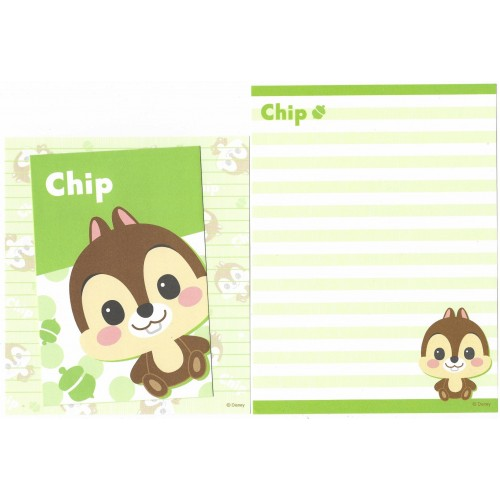 Conjunto de Papel de Carta Importado Disney Chip'n Dale Dupla (VD)