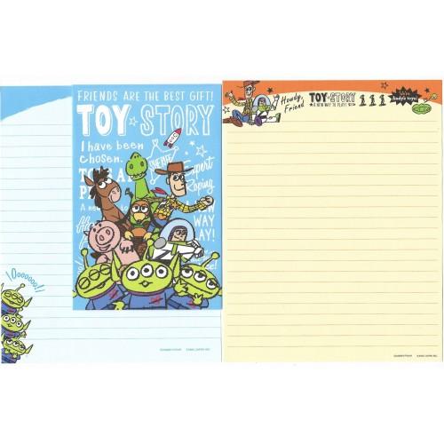 Kit 2 Conjuntos de Papel de Carta Disney/Pixar Toy Story At Play 2
