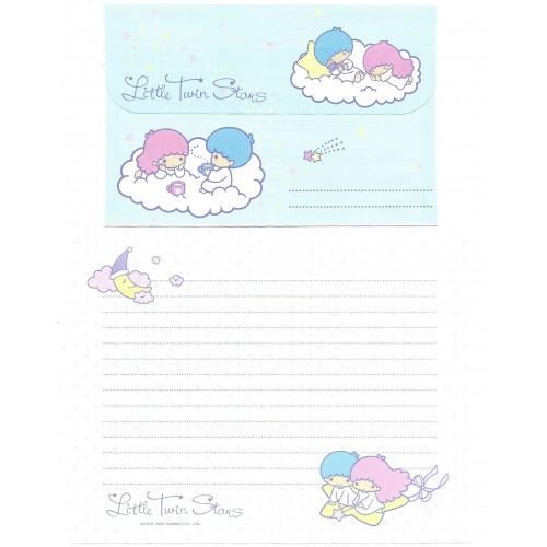Ano 2005. Conjunto de Papel de Carta Little Twin Stars Moon Sanrio