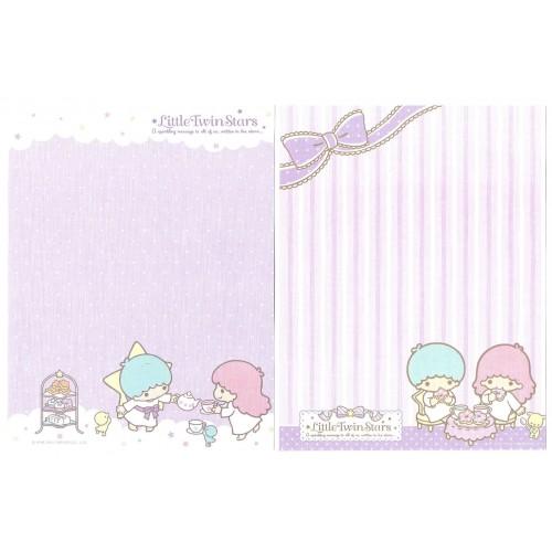 Ano 2014. Lote 12 Papéis de Carta Little Twin Stars Sanrio