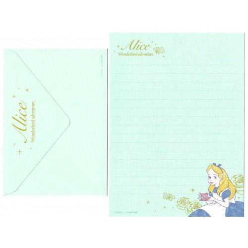 Conjunto de Papel de Carta Disney ALICE Wonderland Adv.