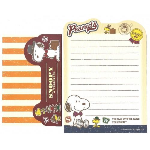 Conjunto de Mini-Papel de Carta SNOOPY Style Peanuts