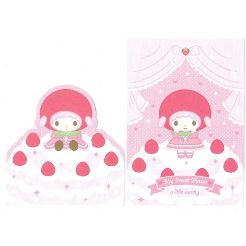 Ano 2008. Kit 2 Notas My Sweet Piano A Little Sweety Sanrio