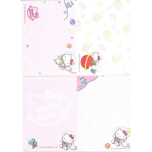 Ano 2016. Kit 4 Notas Sanrio Characters Hello Kitty Sanrio