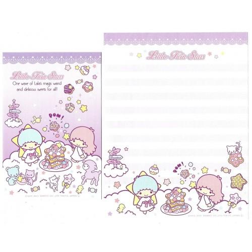 Ano 2013. Conjunto de Papel de Carta Little Twin Stars CRS3 Sanrio