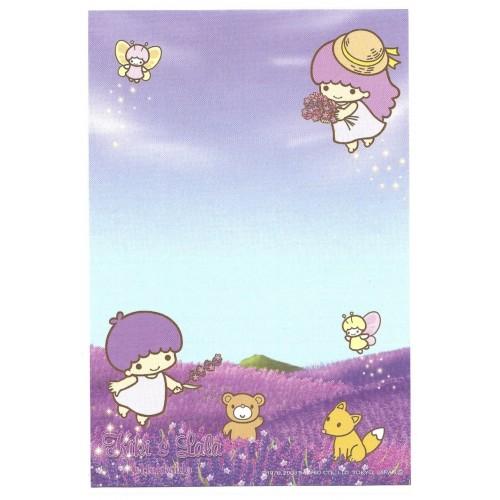Ano 2003. Nota Kiki & Lala Hokkaido Sanrio