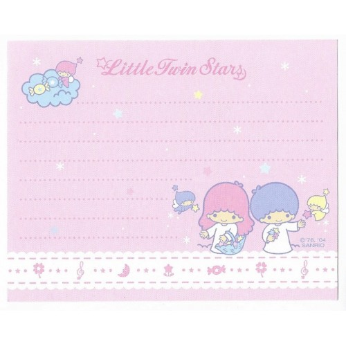 Ano 2004. NOTA Little Twin Stars CRS Sanrio