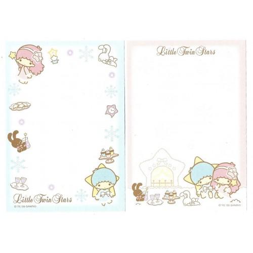 Ano 2009. Kit 2 NOTAS Little Twin Stars Sanrio