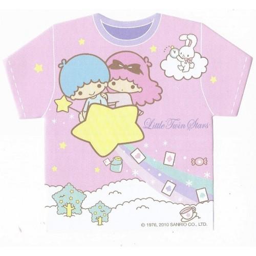 Ano 2010. Kit 16 NOTAS Little Twin Stars Sanrio Ellon